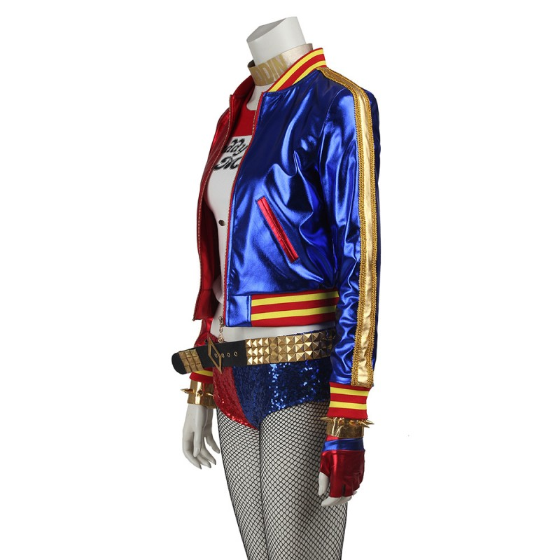 Harley Quinn Cosplay Suit Suicide Squad Cosplay Costumes - Upgraded Version