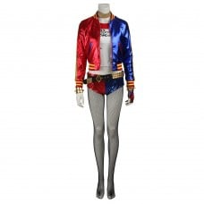Harley Quinn Cosplay Suit Suicide Squad Cosplay Costumes Upgraded Version
