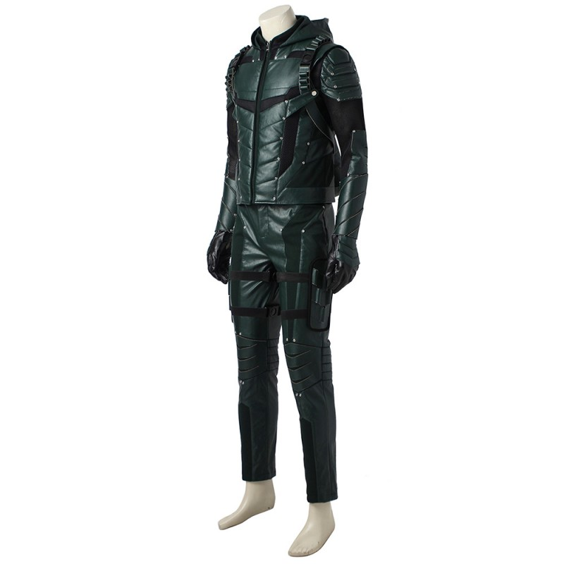 Green Arrow Season 5 Oliver Cosplay Costume Improved Version