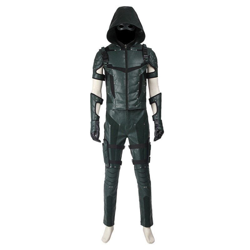 Green Arrow The Season 4 Cosplay Costumes Improved Version Green Arrow Oliver Suit