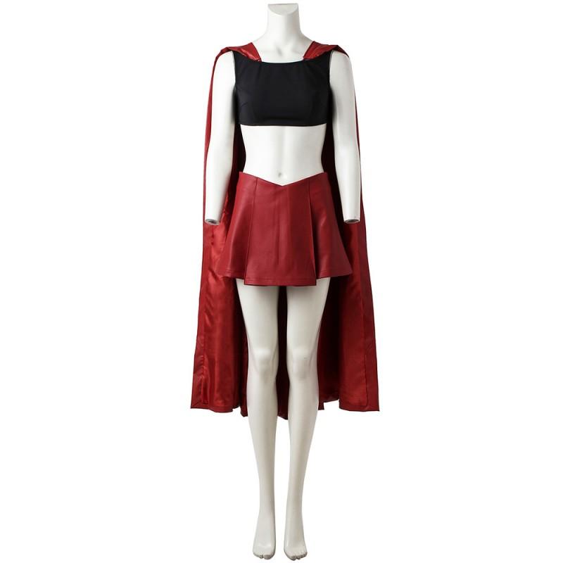 DC Supergirl Costume Carla Danvers Carla Zoel Cosplay Costumes