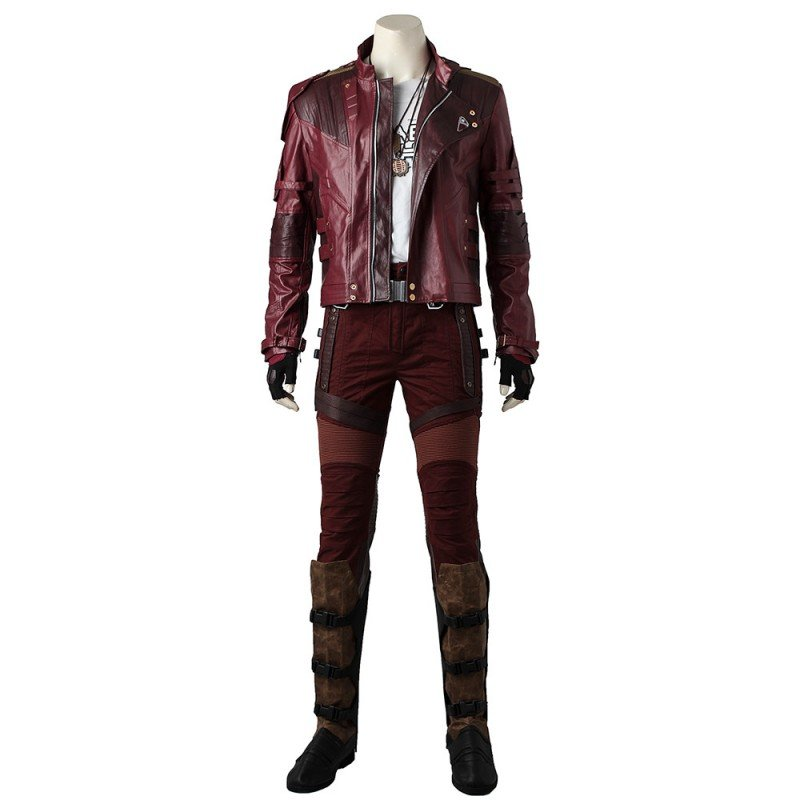 Guardians of The Galaxy 2 Cosplay Costumes Star-Lord Costume Upgraded Version