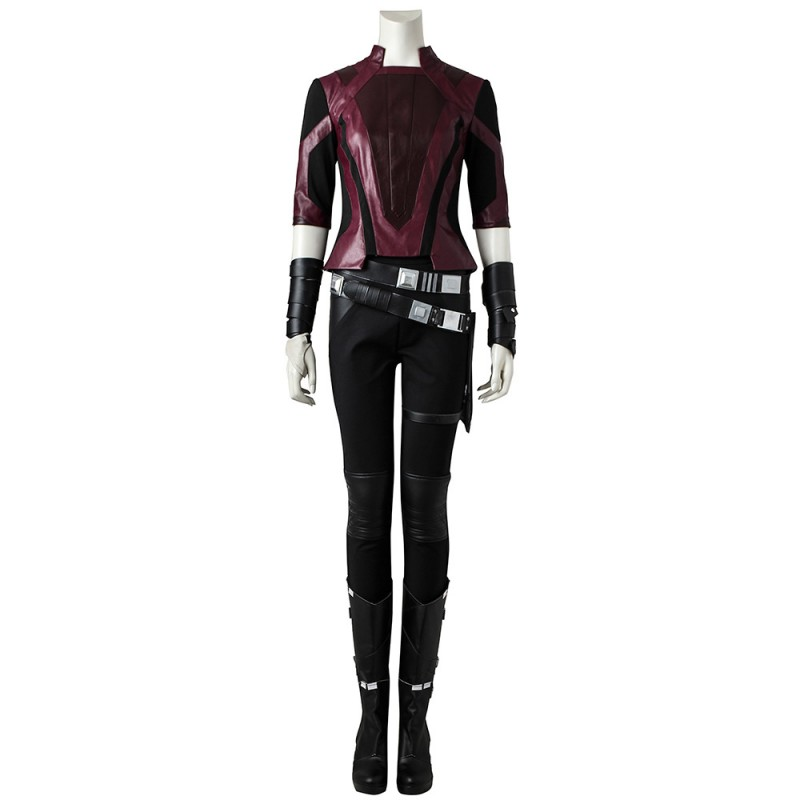 Gamora Short Suit Guardians of the Galaxy 2 Cosplay Costumes