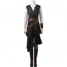 Rey Cosplay Suit Star Wars 8 The Last Jedi Cosplay Costumes