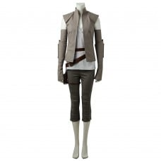 Rey Cosplay Costume Star Wars 8 The Last Jedi Cosplay Costumes
