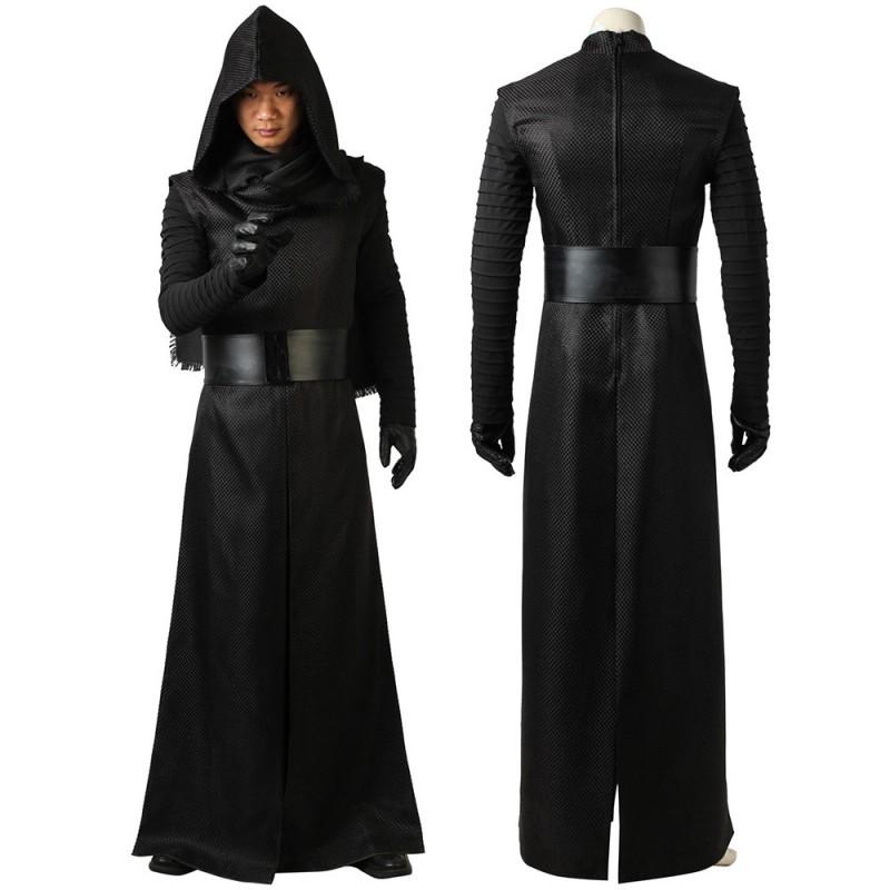 Star Wars The Force Awakens Suits Kylo Ren Cosplay Costume