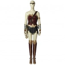 Diana Prince Wonder Woman Cosplay Costume Upgraded Version Full Set Suits