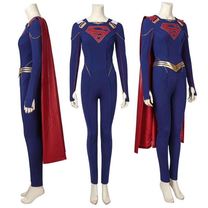 Kara Zor-El Supergirl Cosplay Costume Supergirl The Season 5 Cosplay Costumes