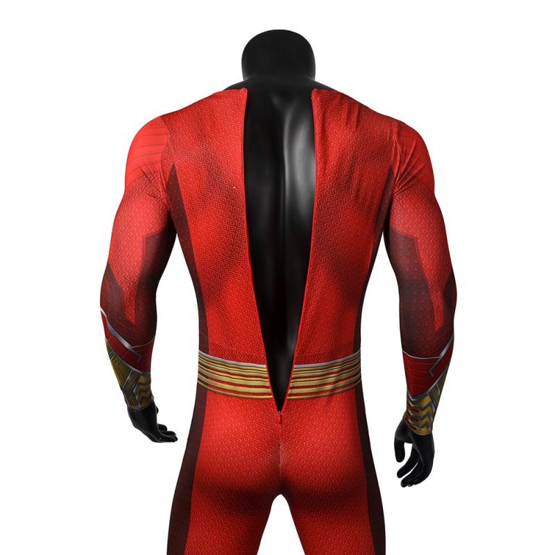 Shazam Suit Billy Batson Cosplay Costume