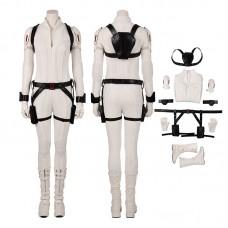 Black Widow White Costumes Natasha Romanoff Cosplay Costumes