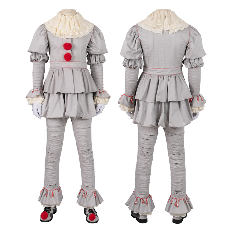 Pennywise Costume IT Chapter 2 Cosplay Costumes