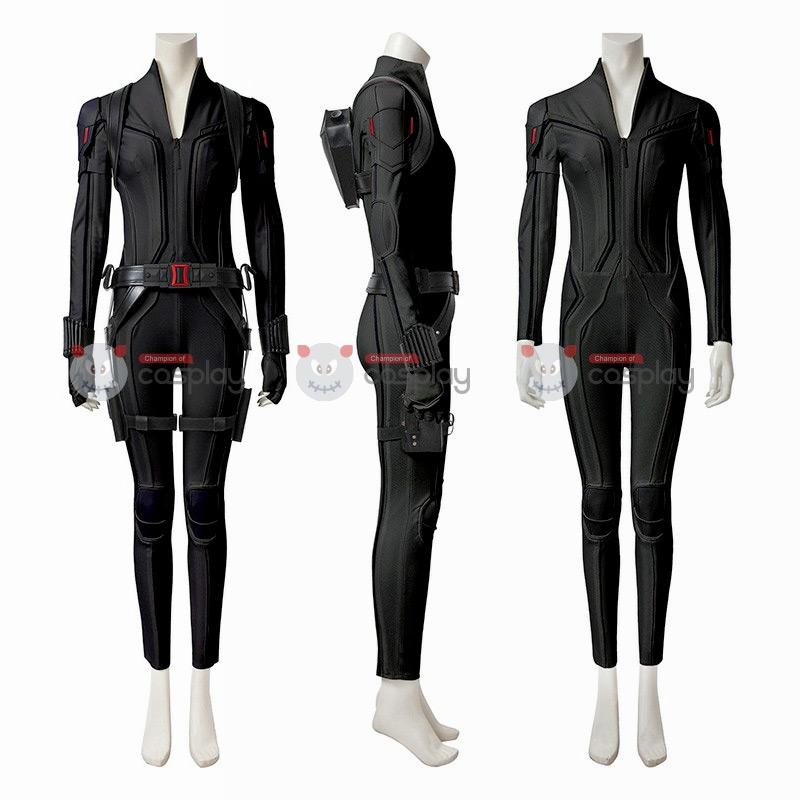 Black Widow Costumes Natasha Romanoff Cosplay Costume