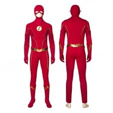 Barry Allen Costume The Flash Season 6 Cosplay Costumes Top Level
