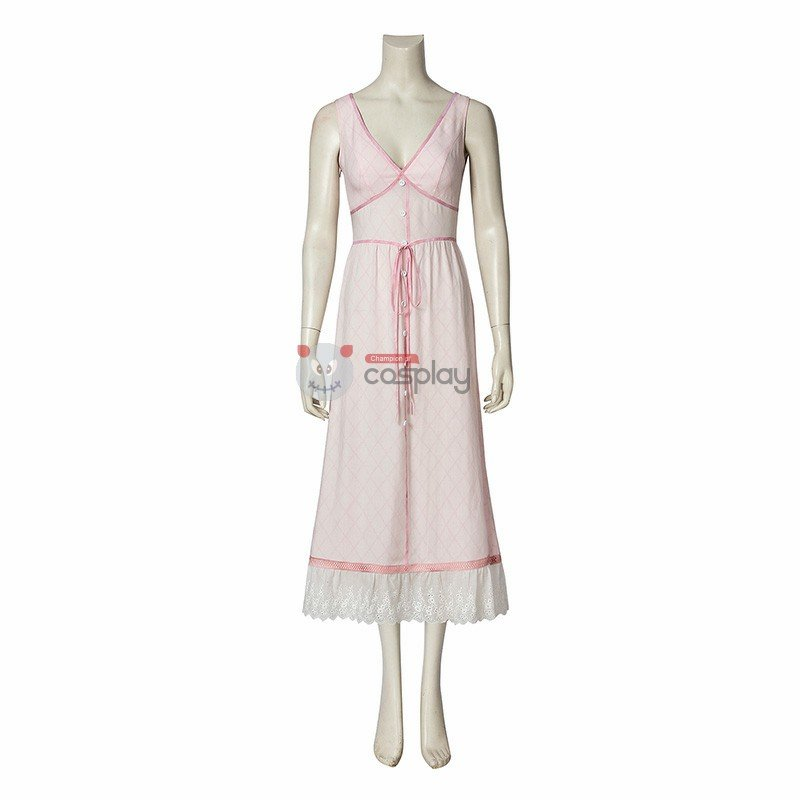 Aerith Gainsborough Costume Final Fantasy 7 Cosplay Costume