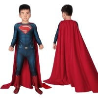Kids Superman Clark Kent Costumes Superman Man of Steel Cosplay Costumes