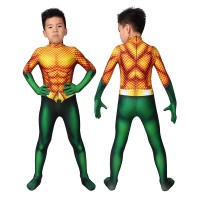 Kids Aquaman Costume Arthur Curry Cosplay Costume