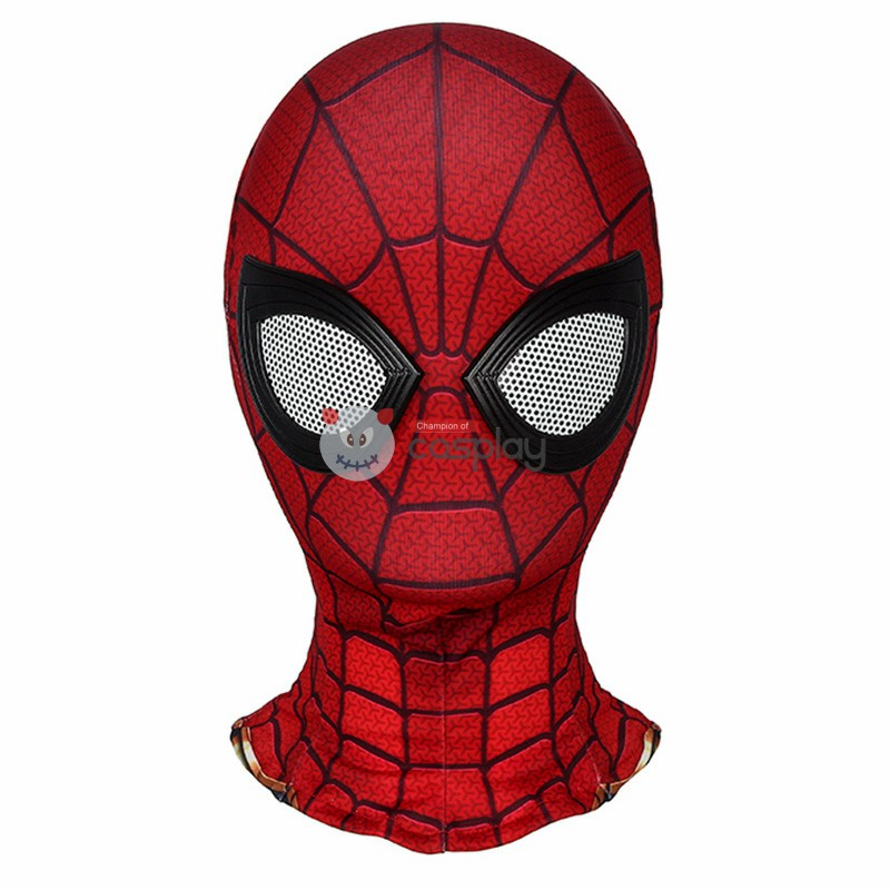 Kids Iron Spiderman Costume Avengers Endgame Spider-Man Peter Parker Cosplay Costumes