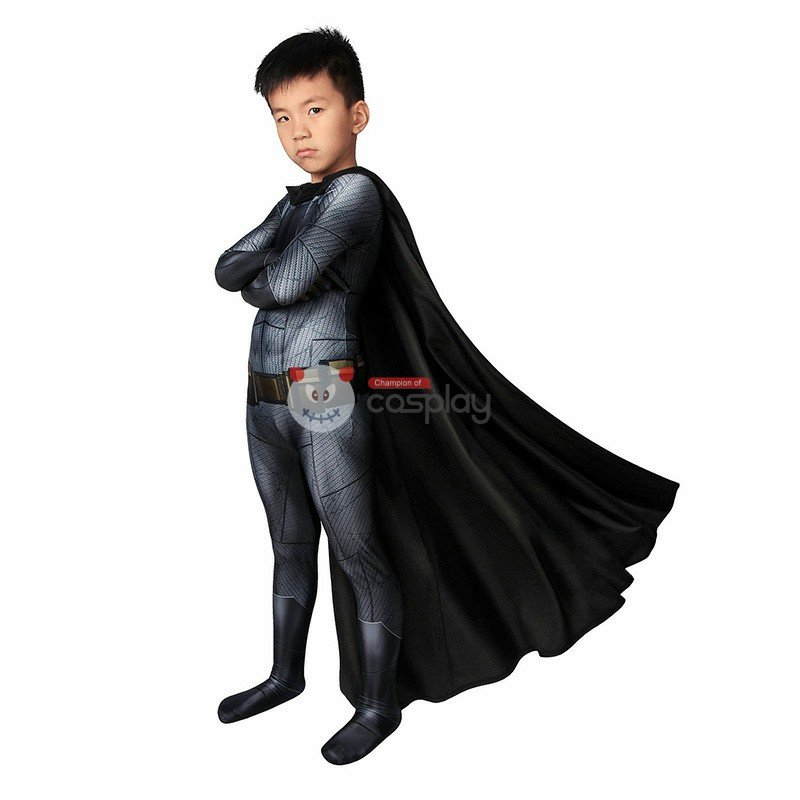 Kids Batman Costume Bruce Wayne Batman V Superman Dawn Of Justice Cosplay Costume