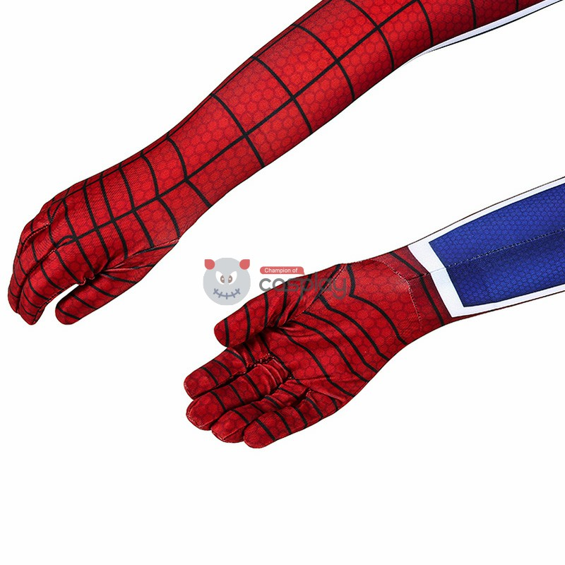 Kids Spider Man Costumes Spider-Man PS4 Punk Suit Cosplay Costumes
