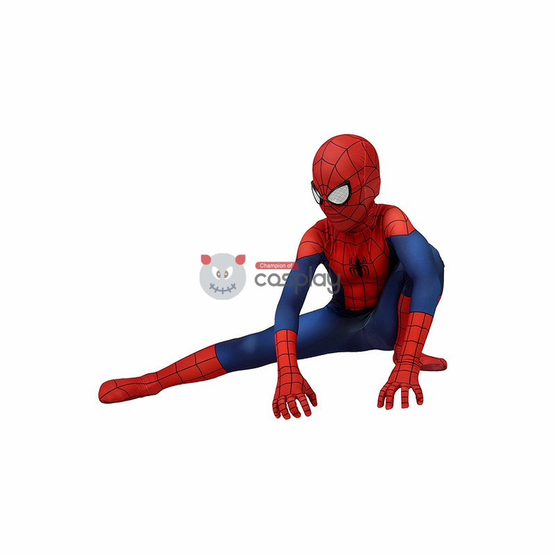 Kids Ultimate SpiderMan Costume Ultimate Spider-Man Classic Cosplay Costumes