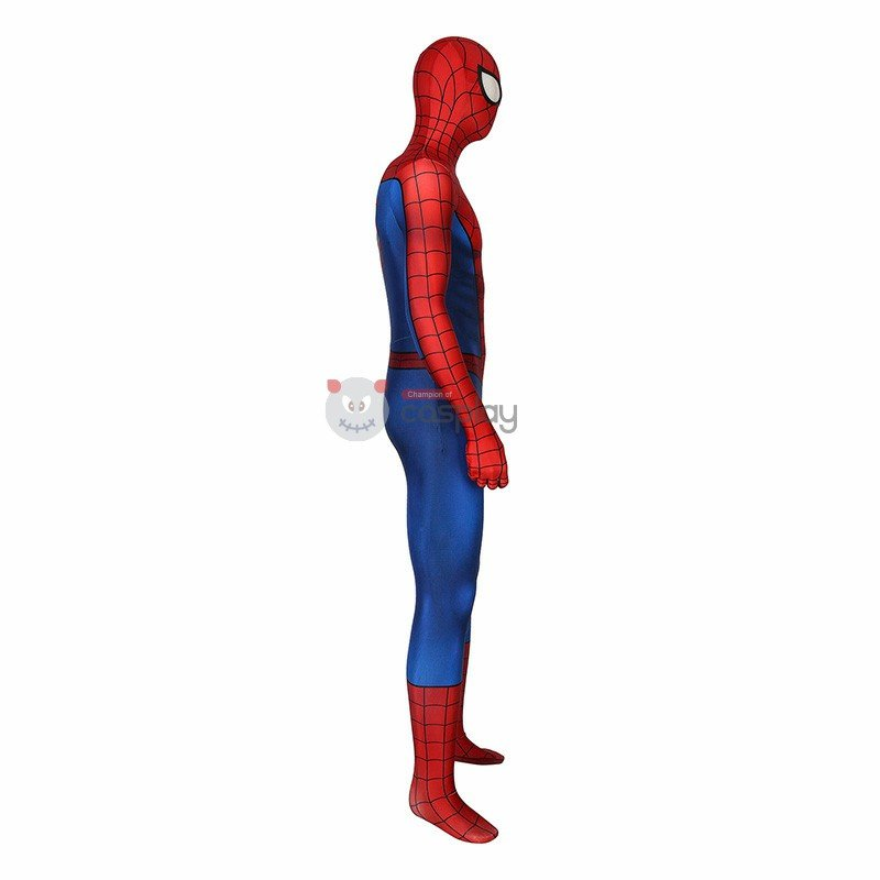Spiderman Costume Spiderman PS4 Game Cosplay Costume