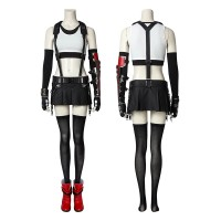 Tifa Lockhart Costume Final Fantasy 7 Cosplay Costume Full Set