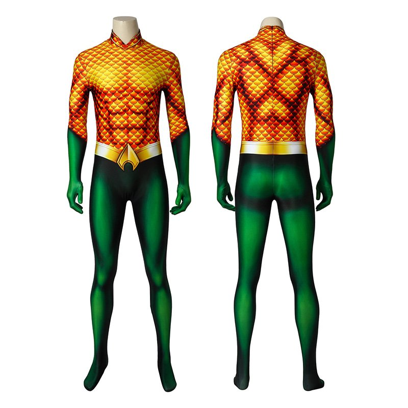 Arthur Curry Costumes Aquaman Cosplay Costume
