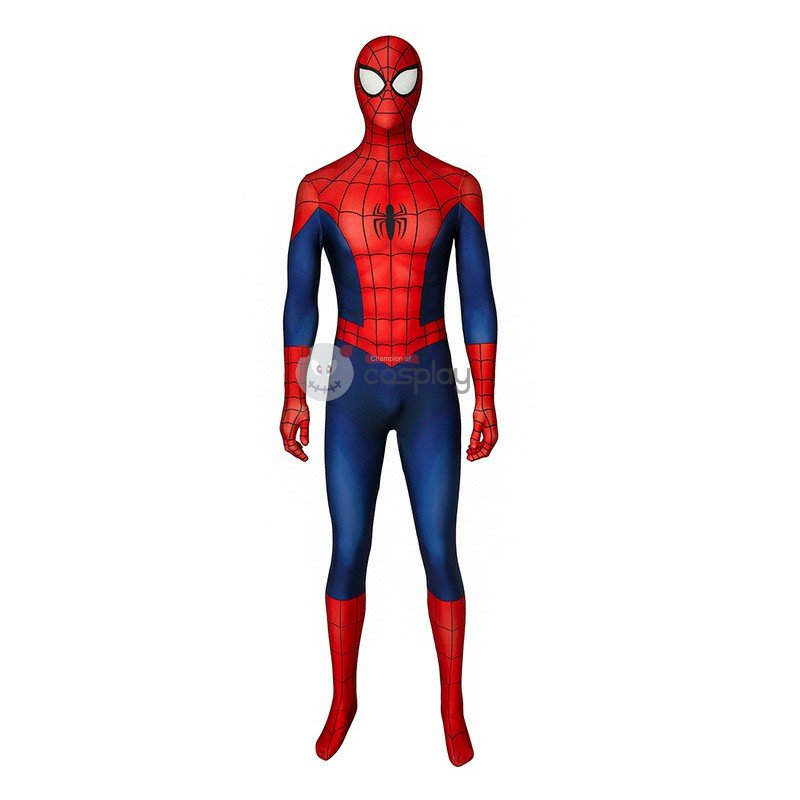 Peter Parker Costumes Ultimate Spider-Man Season1 Cosplay Costumes