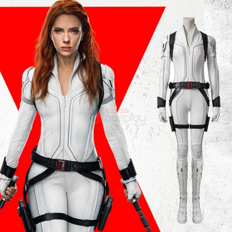 Ready To Ship Black Widow Costumes Natasha Romanoff Cosplay Costume White