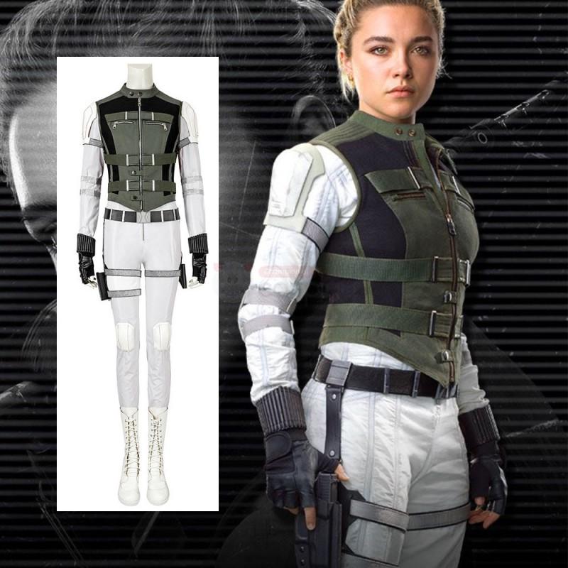 Yelena Belova Costume Black Widow 2021 Cosplay Costume