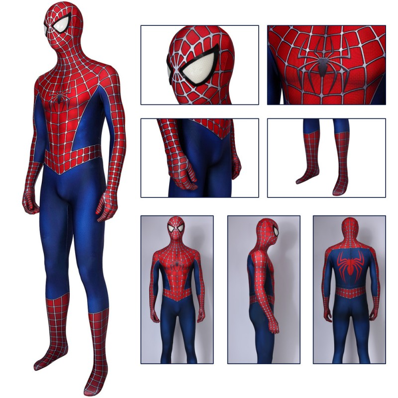 Spider Man Costume Classic Luxury Spider-Man Suit Cosplay Costumes